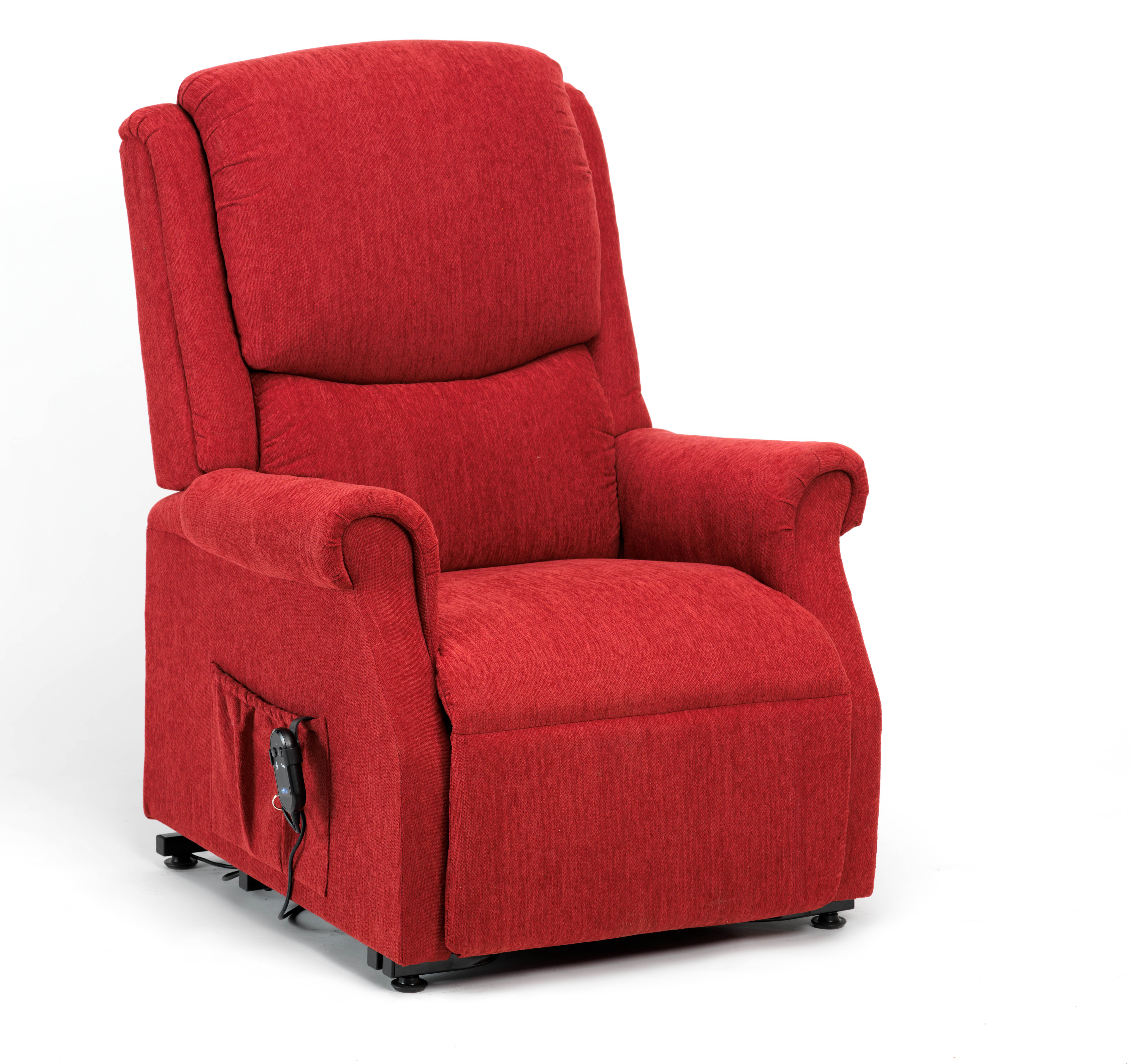 Fabric Riser Recliners Red Riser Recliner Chairs In