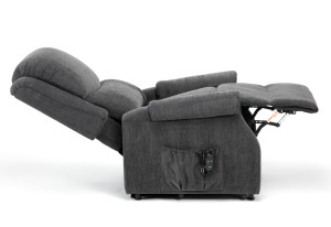 Indiana Charcoal Reclined