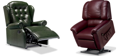 electric leather recliner chairs in stoke on trent